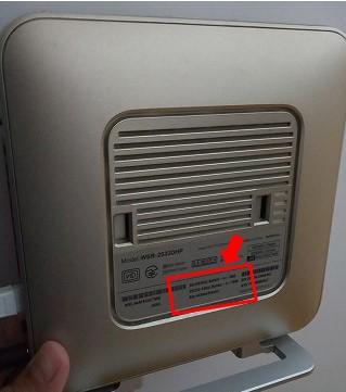 WifiルーターのSSIDとパスワードの確認場所