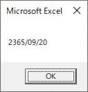 CDateを使って数値6桁を、日付型の時間に変換しようとした結果