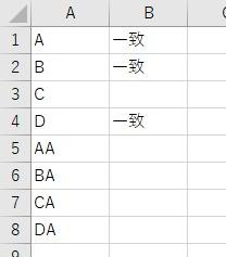 文字列が指定の文字かをOr要素で判定した結果