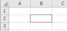 罫線の色をColorIndexで赤に設定した結果