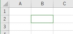ColorIndexで罫線色を深緑に設定した結果
