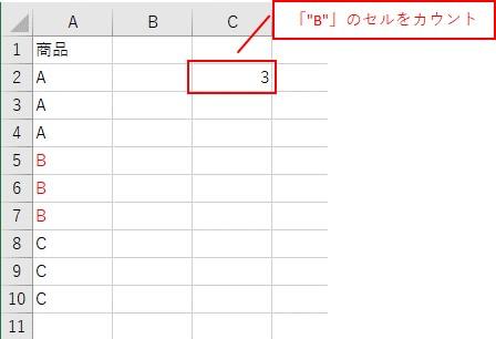 埋め込み数式で「CountIf関数」を使う
