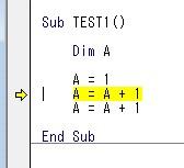 1コードずつ実行することができます