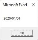 Formatを使ってyyyy/mm/dd形式へ変換