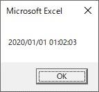 Formatを使って短い時間に変換した結果