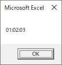 Formatを使って時間だけに変換した結果