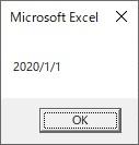 Formatを使ってyyyy/m/d形式へ変換