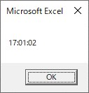 TimeSerialで時、分、秒を時間に変換した結果