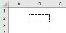 罫線の種類を点線中サイズに設定した結果