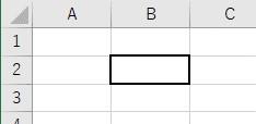 罫線の種類を中サイズの線に設定した結果