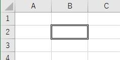 罫線の種類を二重線に設定した結果