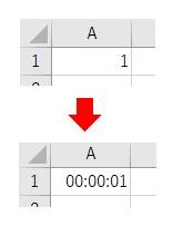 表示形式をNumberFormatLocalで短い時刻にした結果