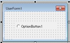 オプションボタンの作成
