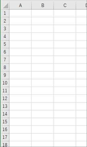 For Eachを使ってシート内の全ての図形を削除した結果