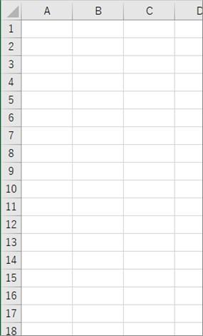SelectAllを使ってシート内の全ての図形を削除した結果
