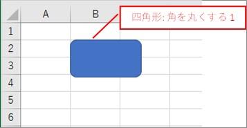 図形をオブジェクトに格納して図形を非表示にする