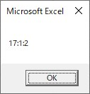 Formatを使って時間をh:m:s形式の文字列に変換した結果